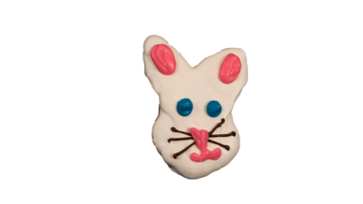 Bunny Face Cookie