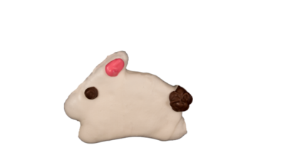 Running Bunny Cookie