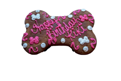 Canine Cookie Cake Pink