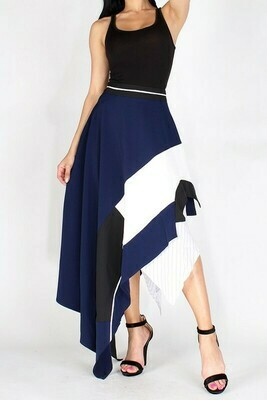 Asymmetrical Layered Skirt