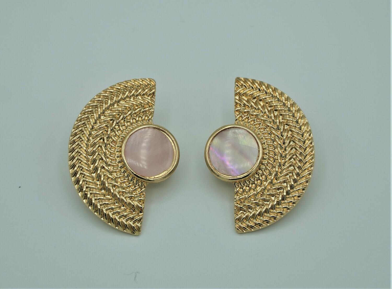 Clip 1/2Mon Earrings