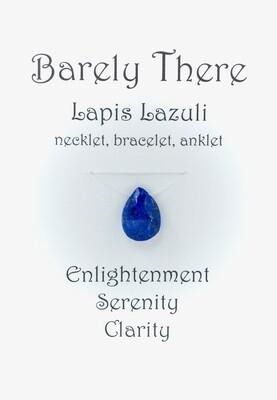 Lapis Lazuli - Invisible Necklet, Bracelet, Anklet