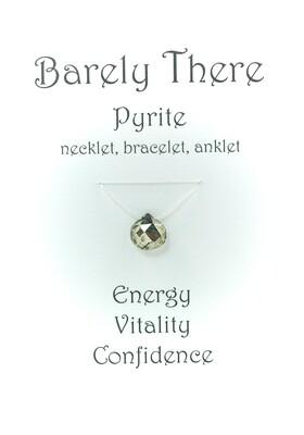 Pyrite - Invisible Necklet, Bracelet, Anklet