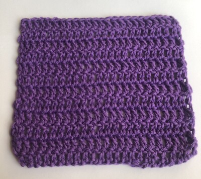 100% cotton crocheted dishcloth/ washcloth