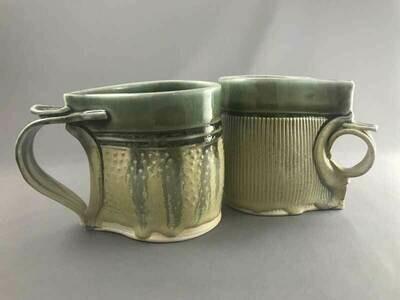 Hand built Ceramic Mug