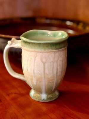 Wood Ash Glazed Mug