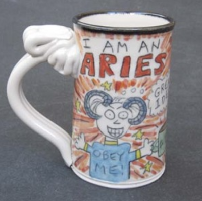 Aries Astrological Mug