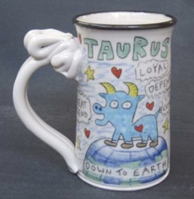 Taurus Astrological Mug