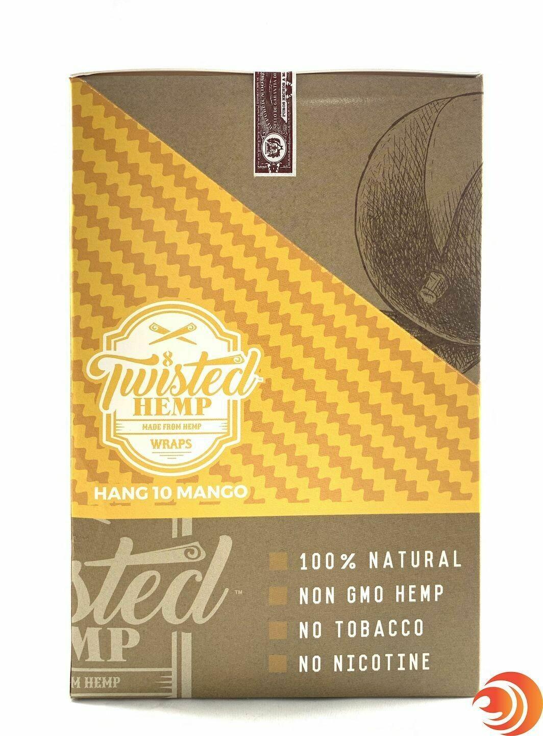 Twisted Hemp Wraps - Hang 10 Mango