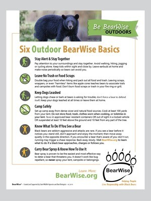 Six Outdoor BearWise Basics (PDF)