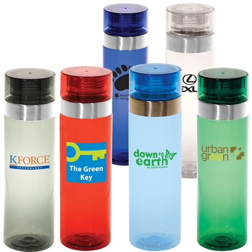 Tritan™ Vortex Bottle Customized $6.95 each 50 pcs  Minimum