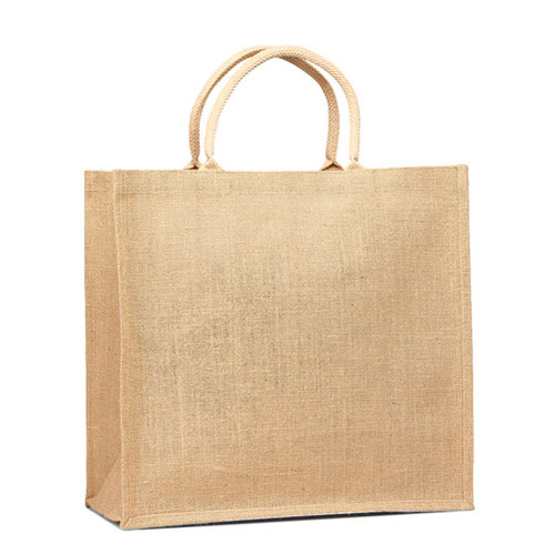 Jute Shopping tote with Cotton Web handle (Price for 50 pcs)