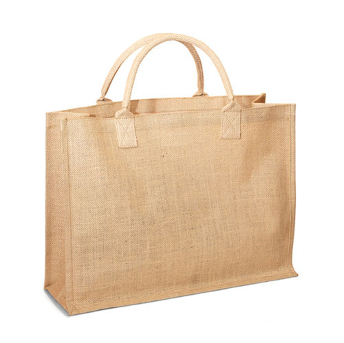 Jute Shopping tote with Cotton Web handle. (Price for 50 pcs)