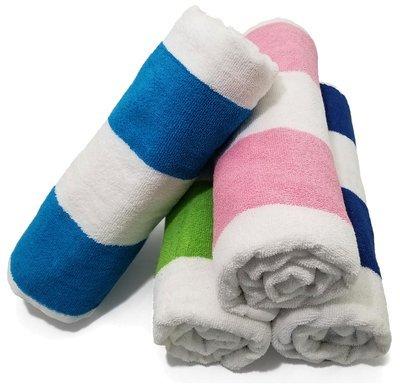 30x60 Economy Cabana Beach Towels. 11 Lb per Dz