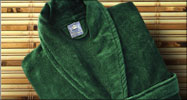 Royal Comfort luxurious bath robes. Shawl Collar.