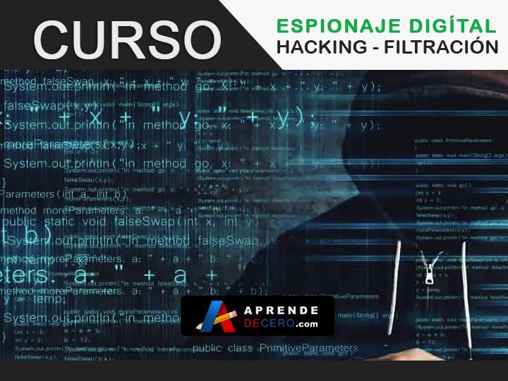 Curso Hacking Ético, Filtracion, Espionaje - Aprende de Cero