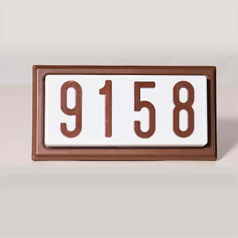 TBR4 - Complete Decorative Address Sign - 4