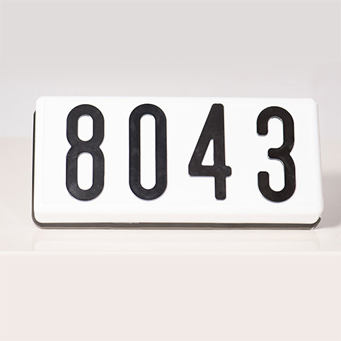 PLHN6LED - LED Complete Address Sign - 6