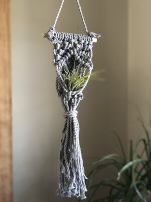 Macrame Mini Plant Holder