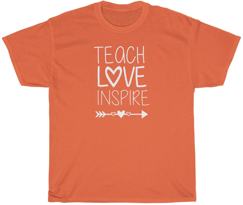Teach, Love, Inspire - Adult Crew Neck