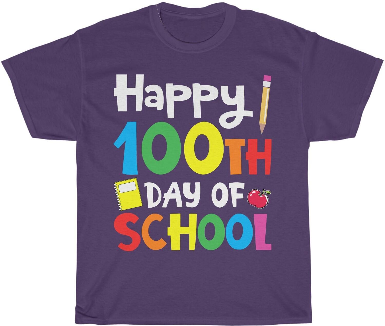 100 Day of School - Adult Crew Neck