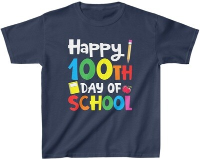 100 Day of School - Youth Crew Neck