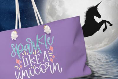 Sparkle Like A Unicorn - Weekender Bag