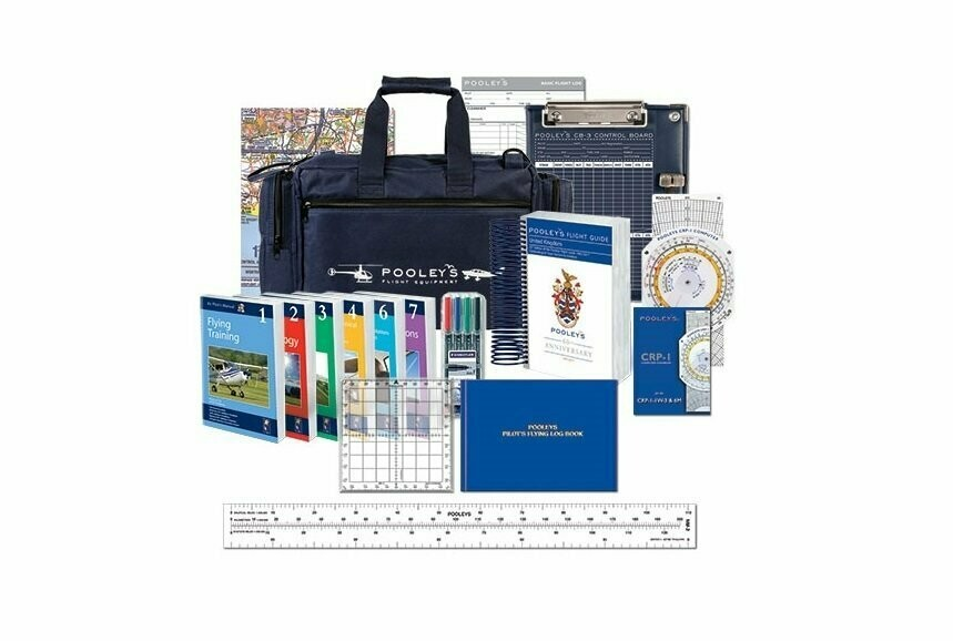 Pooleys Pilot Equipment Fixed Wing Starter Kit with eBooks