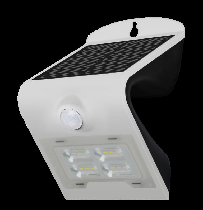 Wall light 02 Vit LED Solar sensor