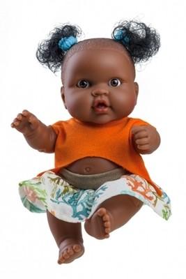Кукла-пупс Эбе мулатка, Paola Reina, 22 см