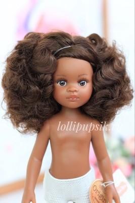Кукла Нора кудряшка, без одежды (Паола Рейна), 34 см