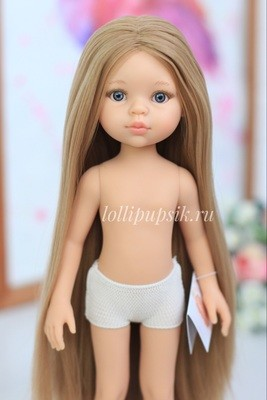 Кукла Карла с волосами до щиколоток, б/о, Paola Reina, 34см