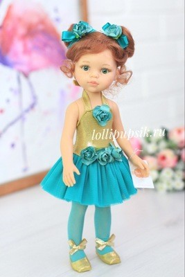 Paola Reina Кукла Кристи балерина, 34 см