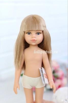 Кукла Карла с челкой б/о, Paola Reina, 34см