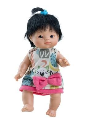 Кукла-пупс Флора, азиатка, Paola Reina, 21 см