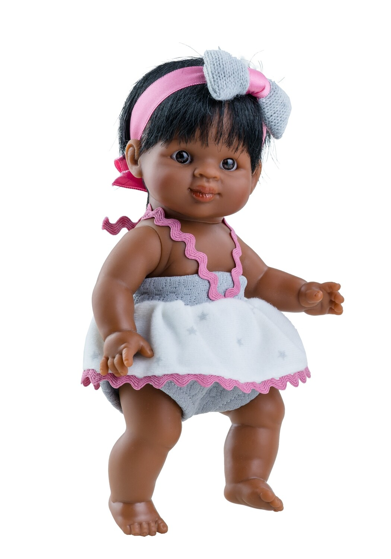 Кукла-пупс Флори, мулатка, Paola Reina, 21 см