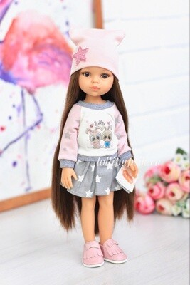 Кукла Кэрол с волосами до щиколоток, Paola Reina, 34см