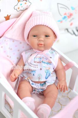 Кукла-младенец в конверте Berjuan, 30 см