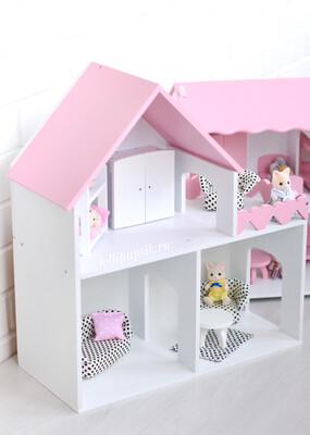 Домик «Классика» (для кукол до 15 см) Мебель в комплекте