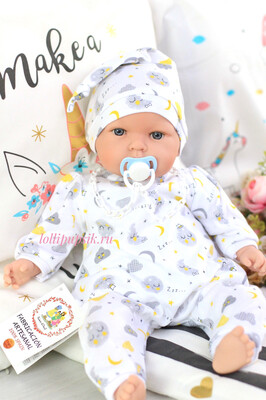 Кукла Тита - малышка (Tita Moon) в пижаме, 45 см