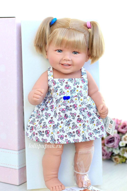 Кукла виниловая Manolo Dolls DIANA блондинка 50 см
