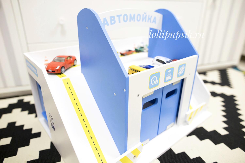 Функциональная автопарковка, машинка HotWheels в подарок