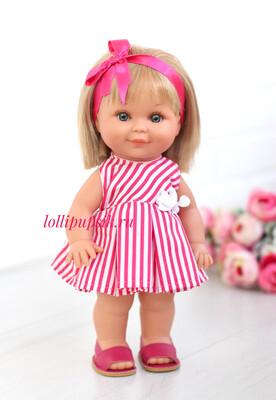 Lamagik S.L. (Magic Baby) Кукла Бетти с ароматом карамели, 30 см (в летнем платье)