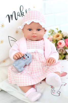 Lamagik S.L. (Magic Baby) Кукла-младенец Алисия в нарядном платье 45 см