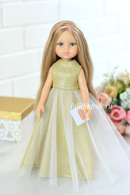 Кукла Карла (отправка после 09.12.2019) с волосами до щиколоток, Paola Reina, 34см