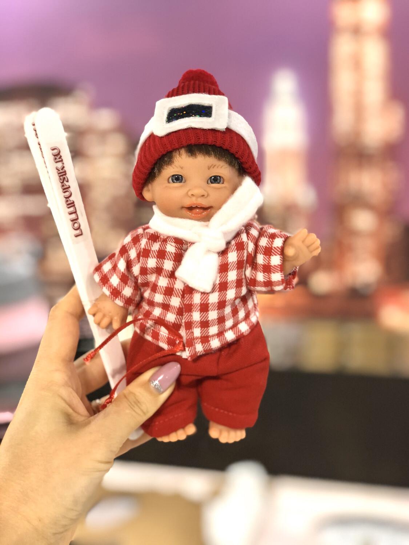 Пупсик Gestitos (девочка-лыжница) 18 см с ароматом карамели, Lamagik S.L. (Magic Baby)
