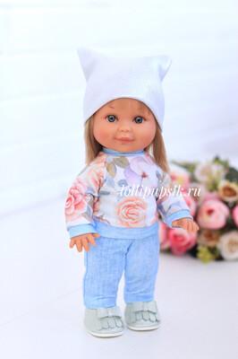 Кукла Бетти с ароматом карамели, 30 см (в цветочном костюмчике) Lamagik Magic Baby