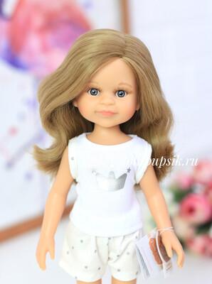 Кукла Клео с волосами до плеч в пижаме  (Паола Рейна), 34 см