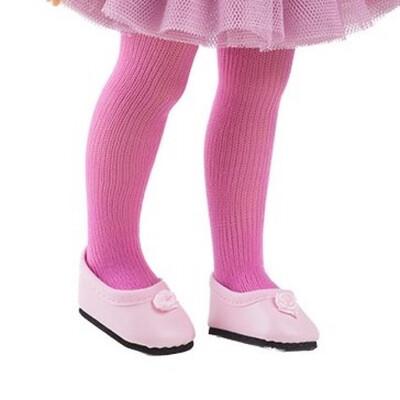 Колготки розовые для куклы Paola Reina 32-34 см
