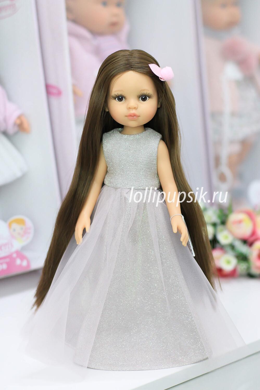 Кукла Кэрол Рапунцель с длинными волосами в нарядном платье(Паола Рейна), 34 см